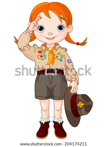 Girl Scouts Stock Images, Royalty-Free Images & Vectors | Shutterstock