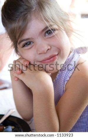 Young Happy Girl - stock photo