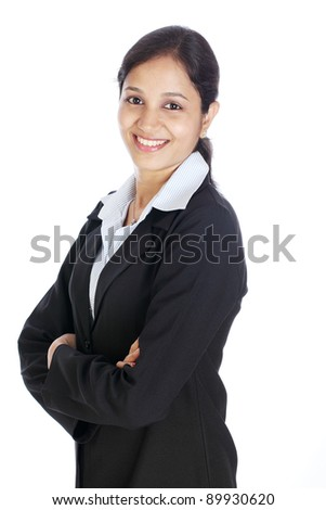Young Indian Business Woman - stock photo