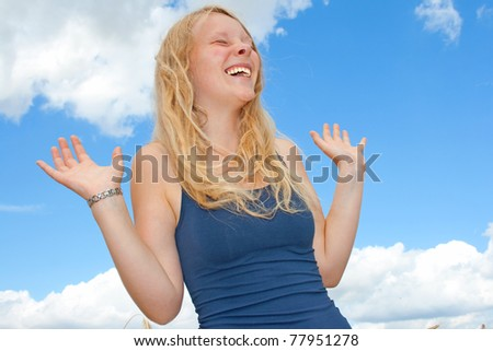Young Lady - stock photo