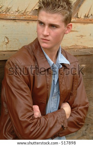 Young Male - stock photo