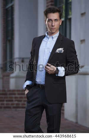 Young Male Professional - stock photo