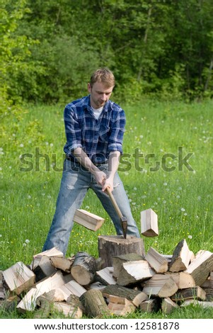 Chopping Wood Stock Images Royalty Free Images Amp Vectors Shutterstock