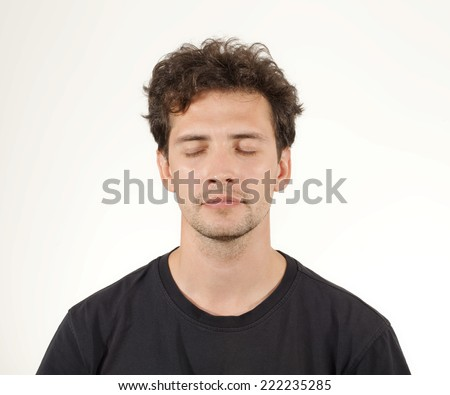 Young Man Portrait. - stock photo