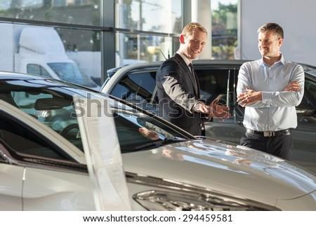 car salesman stock images royalty free images vectors shutterstock. Black Bedroom Furniture Sets. Home Design Ideas