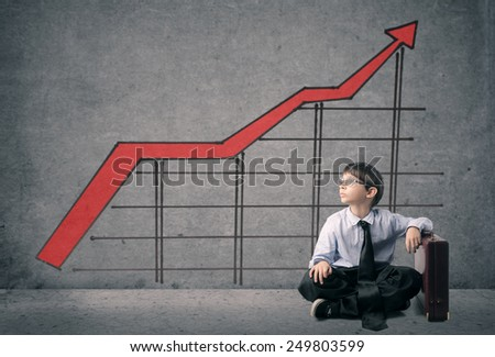 Young manager  - stock photo