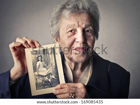 Young Memory - stock photo
