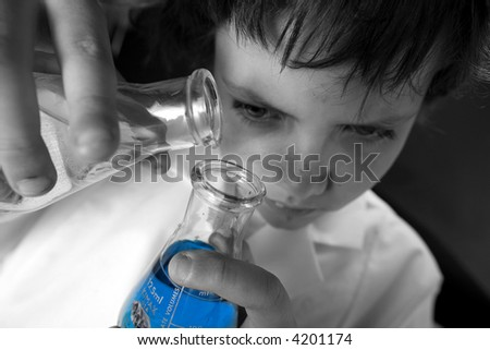 young scientist , laboratory, science, technology, testing,doctor - stock photo