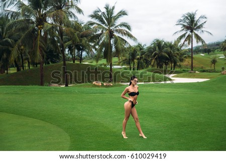 nude bogy art golf landscape shirt which