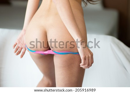 Young sexy asian woman - stock photo