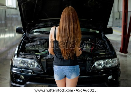 Autoelectric stock images royalty free images vectors for Garage diagnostic auto