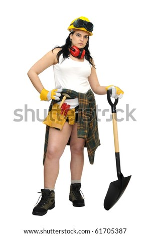 sexy construction girls stock images royalty free images vectors shutterstock 5937