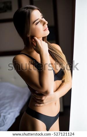 Girl in black lingerie 15
