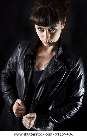 young sexy woman - stock photo