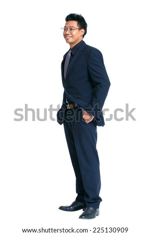 Businessman His Jacket Over His Shoulder Stock Photo ...