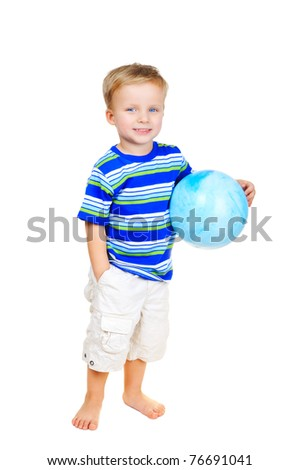 Young sportsman - stock photo
