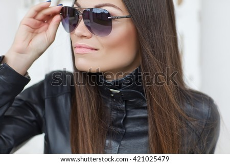 Young stylish woman