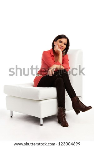 Young successful woman - stock photo