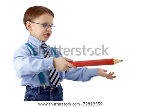 Young teacher - stock photo
