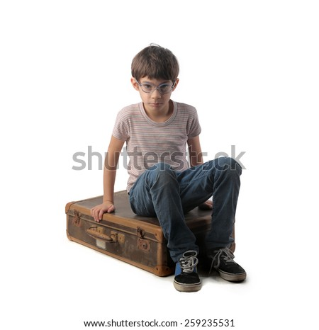 Young traveller  - stock photo