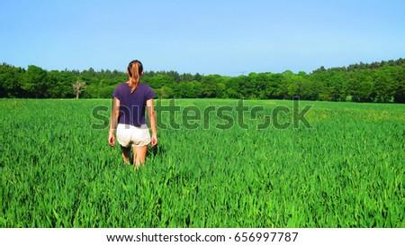 Barley bikini girl in legal