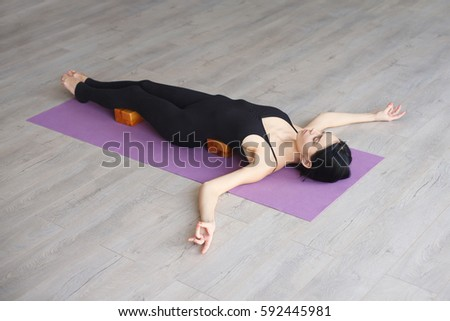 Savasana Shavasana Stock Images, Royalty-Free Images & Vectors ...