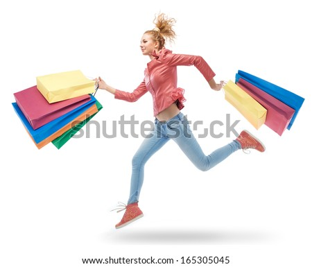 https://thumb7.shutterstock.com/display_pic_with_logo/624835/165305045/stock-photo-young-woman-running-with-shopping-bags-in-hands-165305045.jpg