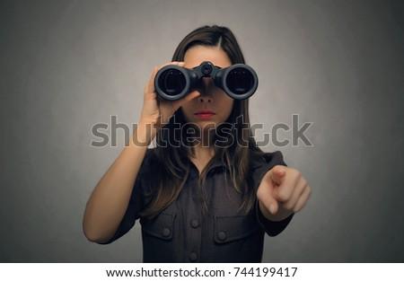 Looking Ahead Binoculars