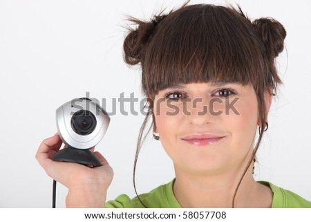 Younger and connected - stock photo