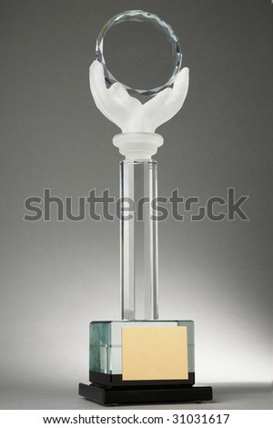Your award - stock photo