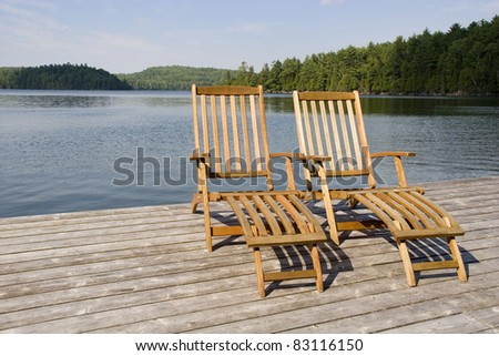Your chair is waiting - stock photo