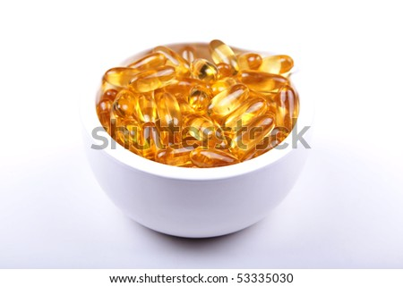 Your daily bowl of Vitamin E - stock photo