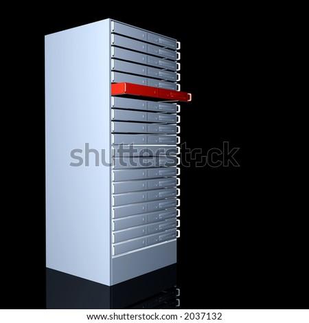 Your dedicated Server - stock photo