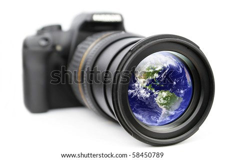 Your eye for a world - stock photo