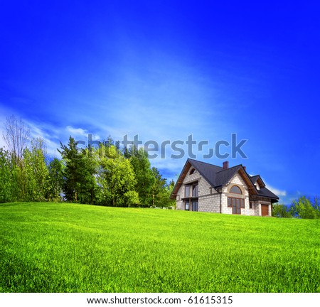 Your New Home - stock photo