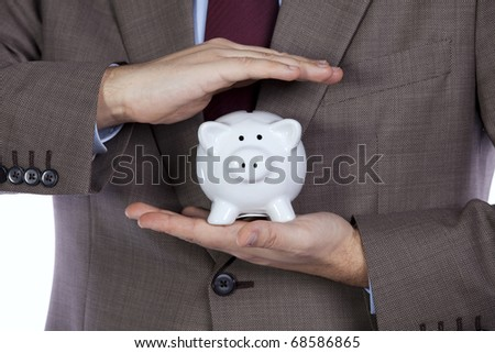 Your professional finance and insurance solution for the best protection - stock photo