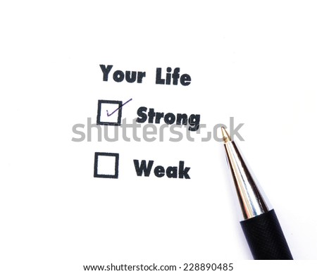 Your select is Strong or Weak,ink print,check Strong