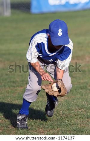 Youth Baseball - stock photo