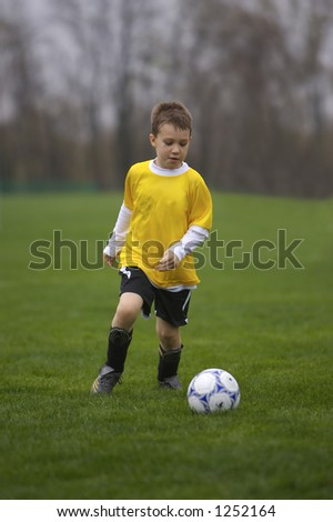 Youth Soccer - stock photo