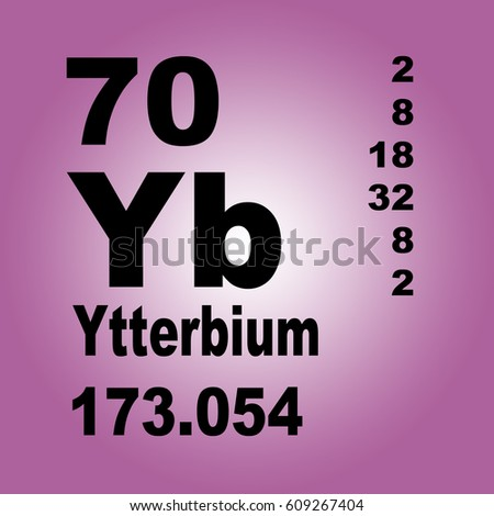 Ytterbium periodic table elements stock illustration 609267404 ytterbium periodic table of elements urtaz Images