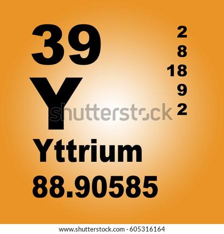 Yttrium periodic table elements stock illustration 605316164 yttrium periodic table of elements urtaz Choice Image