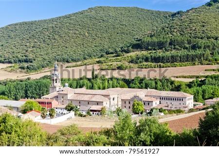 Yuso Monastery, San Millan de la Cogolla, La Rioja, Spain - stock photo