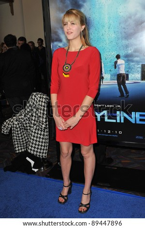 "Yvonne Zima at the world premiere of ""Skyline"" at the Regal Cinema at L.A. Live in downtown Los Angeles. November 9, 2010  Los Angeles, CA Picture: Paul Smith / Featureflash"