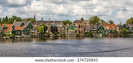 Zaanse Schans, Netherlands. - stock photo