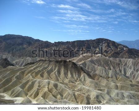 Zabriskie Point, Death Valley - stock photo