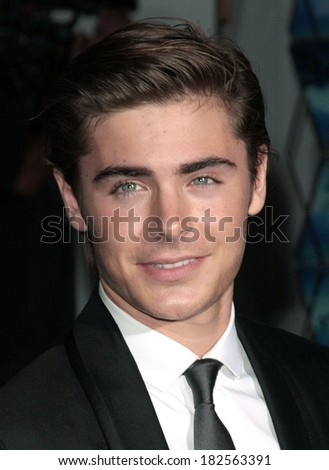 Zac Efron at High School Musical 3 Senior Year Premiere, Galen Center at University of Southern California, USC,, Los Angeles, CA, October 16, 2008
