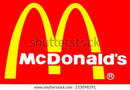 ZAGREB , CROATIA - NOVEMBER 25 , 2014 : fast food chain Burger King logo printed on food box ,product shot - stock photo