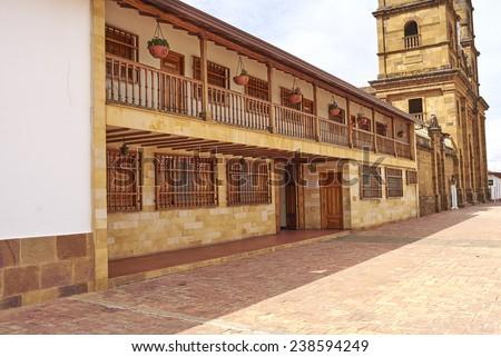 Zapatoca Santander Colombia - stock photo
