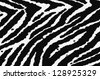 Zebra fabric texture, can use as background - stock photo