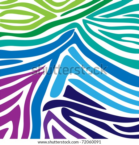 Zebra pattern - stock photo